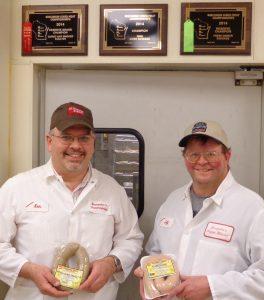 Ken and Jeff - Liver sausage